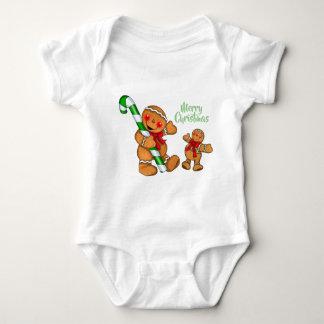 Gingerbread Christmas Baby Bodysuit
