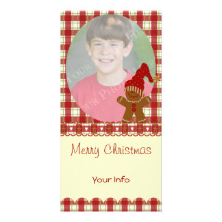 Gingerbread Christmas Photo Cards