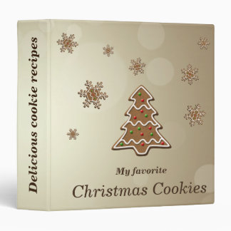 Gingerbread Christmas Tree - Cookie Recipes Binder