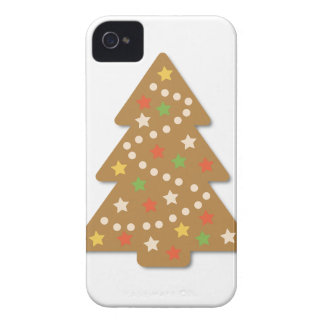 Gingerbread Christmas Tree iPhone 4 Case