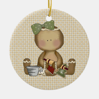 Gingerbread Cookie Baking ornament