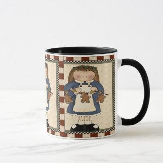Gingerbread Cookie Girl Mug