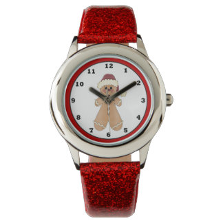 Gingerbread Cookie Holiday Christmas Watch