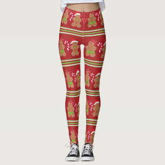 Gingerbread Cookie Leggings