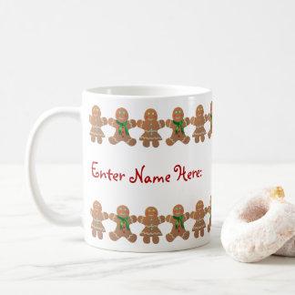 Gingerbread Cookies Celebrating Christmas Coffee Mug