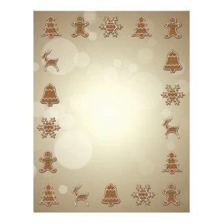 Gingerbread Cookies - Christmas Letterhead