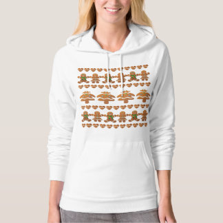 Gingerbread Cookies' Christmas Party Hoodie