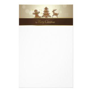 Gingerbread Cookies - Stationery Letterhead