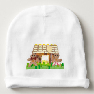 Gingerbread Couple Baby Hat Baby Beanie