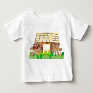 Gingerbread Couple No Background Baby T-Shirt