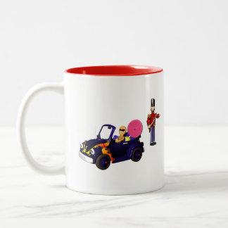 Gingerbread Cruising Two-Tone Coffee Mug