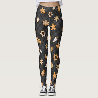 Gingerbread Dark Leggings