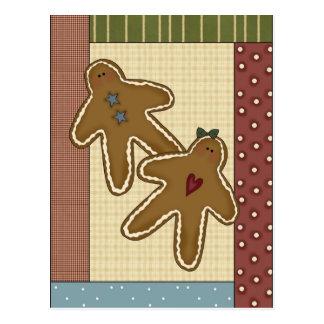 Gingerbread Delights Postcard