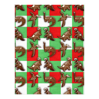 Gingerbread Dinos Letterhead