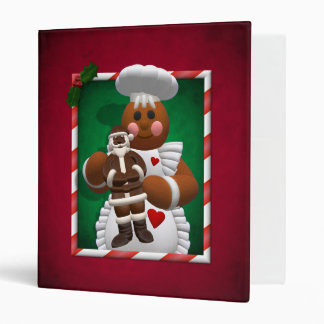 Gingerbread Family: Chocolate Girl Binder