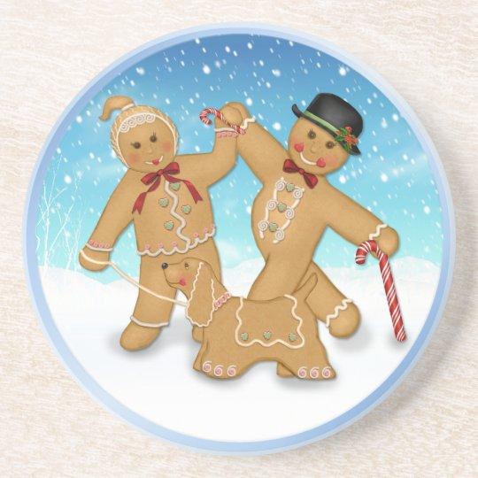 Gingerbread Family Coaster