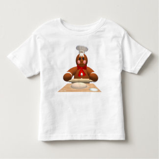 Gingerbread Family: Little Baker Toddler T-shirt