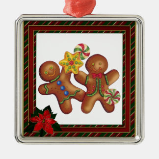 Gingerbread Friends Christmas Ornament