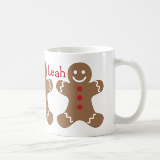 Gingerbread Friends Personalized Christmas Mug