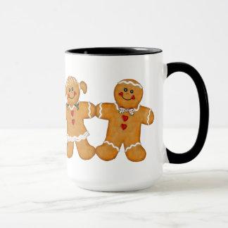 Gingerbread Fun - Couple Mug