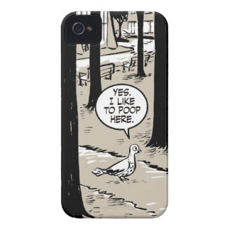 Gingerbread Girl Pigeon iPhone 4 Cover
