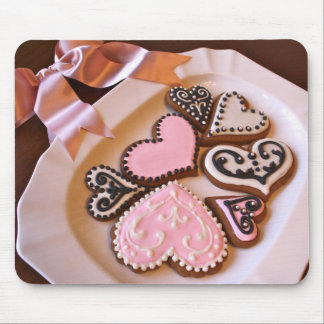 Gingerbread Hearts Mousepad