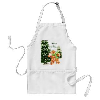 Gingerbread Holiday Apron