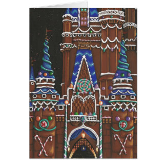 Gingerbread Holiday Note Card