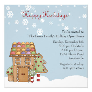... Open House Invites, 800 Holiday Open House Invitation Templates