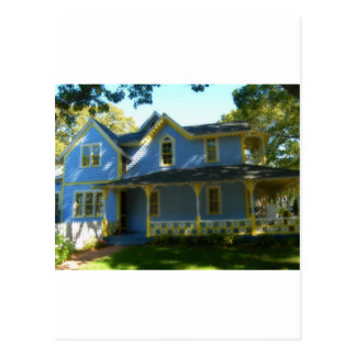 Gingerbread house 22 postcard