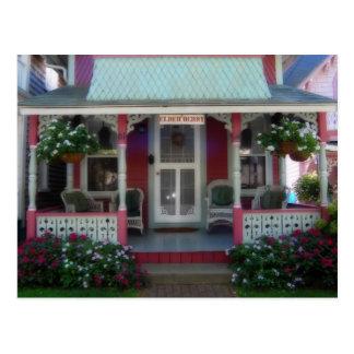 Gingerbread house 34 postcard