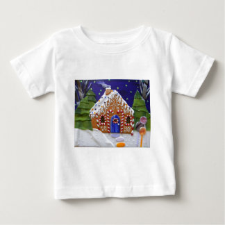 Gingerbread House Baby T-Shirt