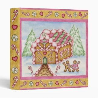 Gingerbread House Binder