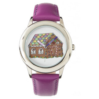 Gingerbread House Candy Christmas Xmas Watch