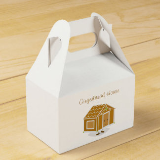 Gingerbread House cartoon | Favor box