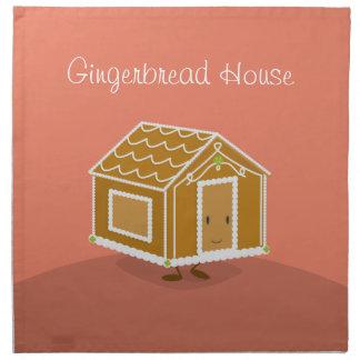 Gingerbread House cartoon   Napkin