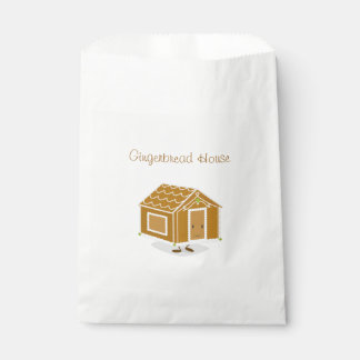Gingerbread House character | favor bag