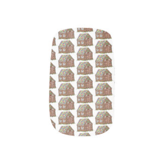 Gingerbread House Christmas Candy Holiday Sweet Minx Nail Art