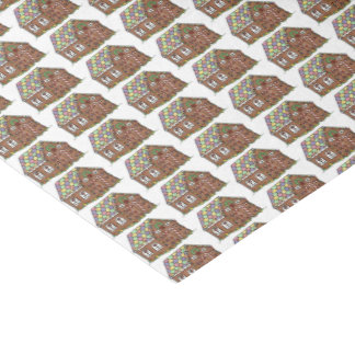 Gingerbread House Christmas Candy Holiday Xmas Tissue Paper