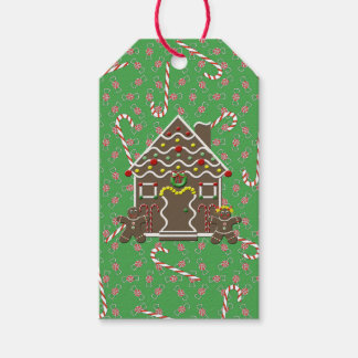 Gingerbread House Christmas Candy Pack Of Gift Tags