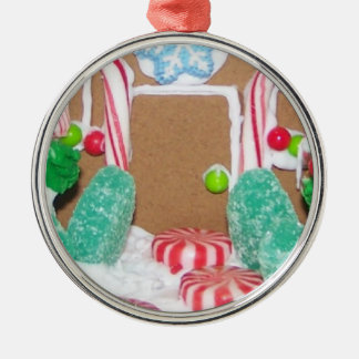 Gingerbread House front Ornament