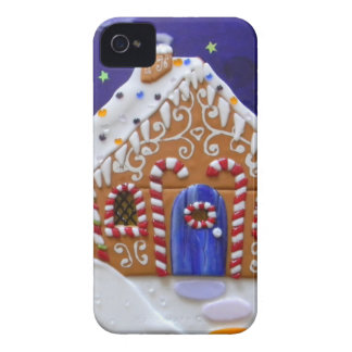 Gingerbread House iPhone 4 Covers