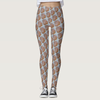 GINGERBREAD HOUSE LEGGINGS