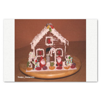 Gingerbread House Paper Tissue