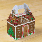Gingerbread House Personalized Holiday Box