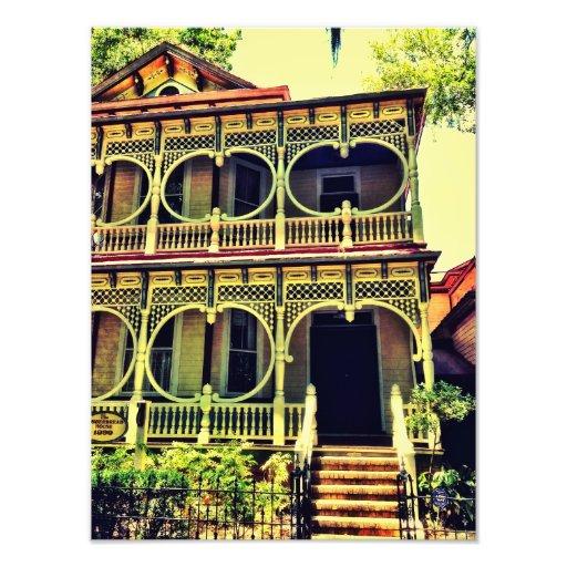 Gingerbread House Photo Print