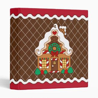 Gingerbread  House Scrapbook Binder