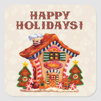 Gingerbread House sticker