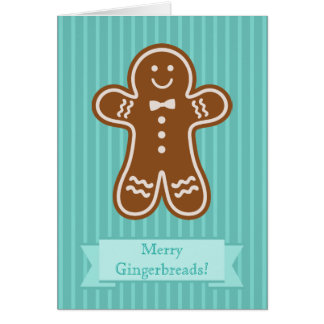 Gingerbread Hugs Card