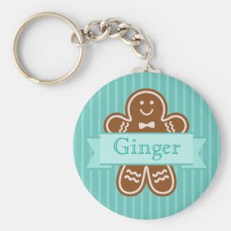 Gingerbread Hugs Keychain